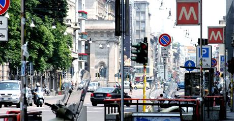 Milano traffico