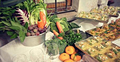 Giacimenti urbani - cucina  aperitivo - verdura