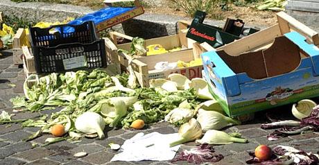 spreco alimentare - scarti alimentari