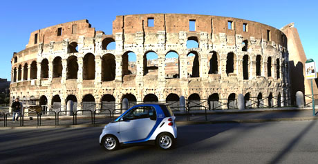 car2go Roma - car sharing