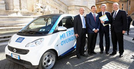 car2go Roma - car sharing2