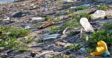 spiaggia - rifiuti