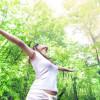 benessere - natura - donna