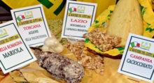 bandiere del gusto - alimenti - cibi Coldiretti