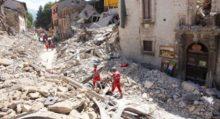 Croce Rossa Italiana terremoto