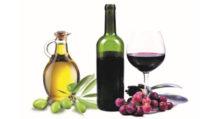 olio vino bottiglie vetro