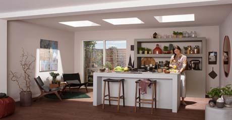 Velux con la luce giusta la casa si vive nel benessere - Umidita giusta in casa ...