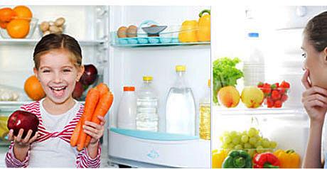 cibo e frigorifero